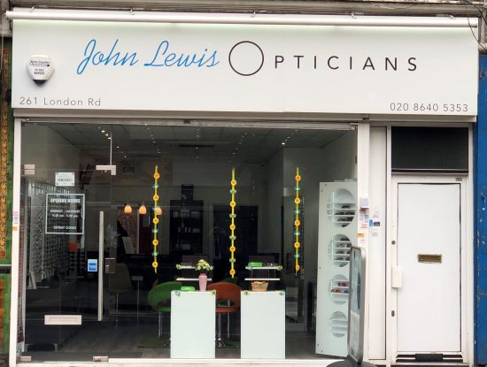 John Lewis Opticians, Mitcham